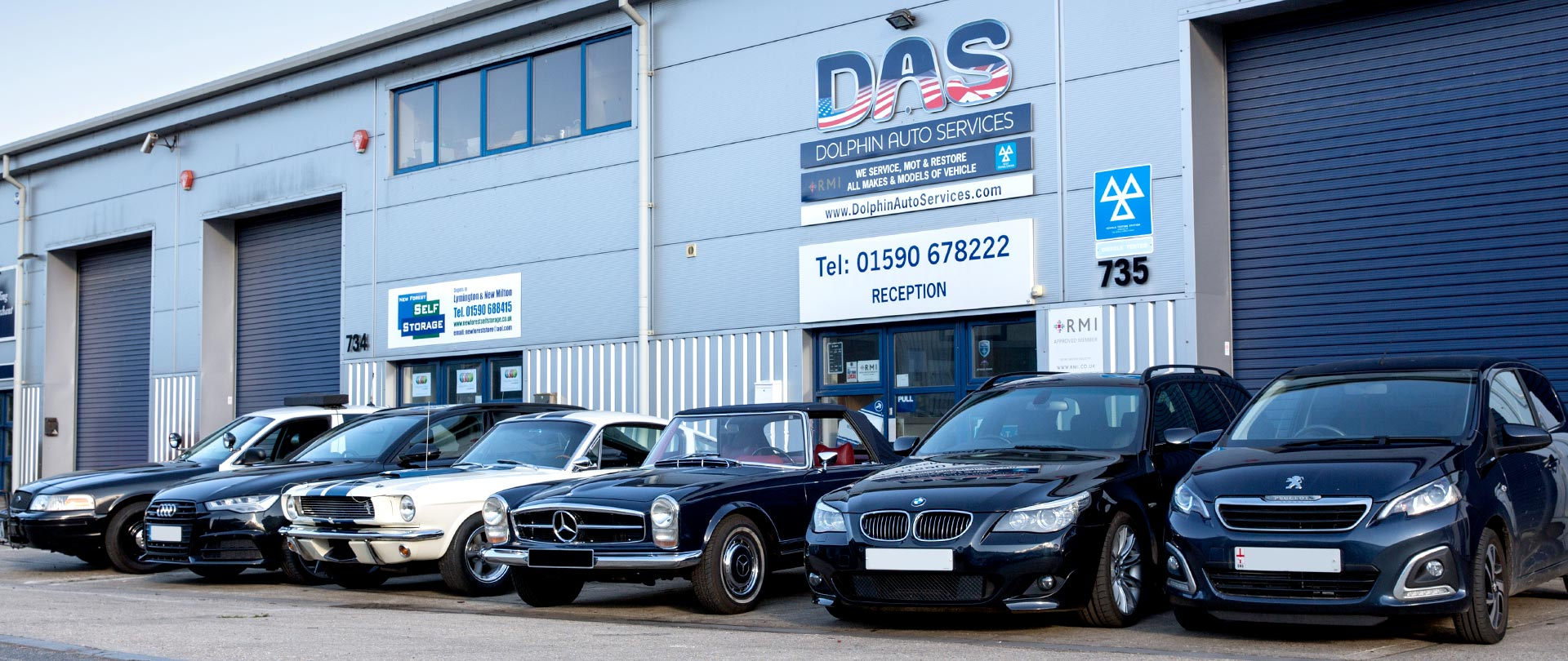 MOT, service & repairs on all types of vehicle